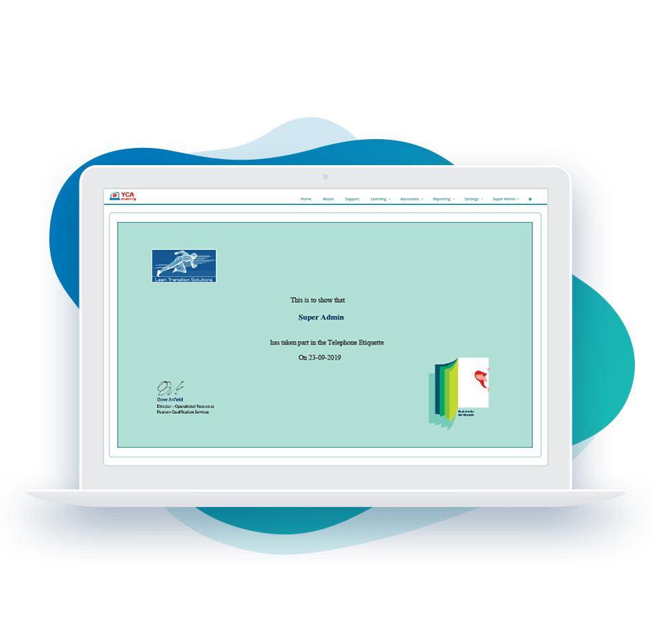 Certificates & Recognition