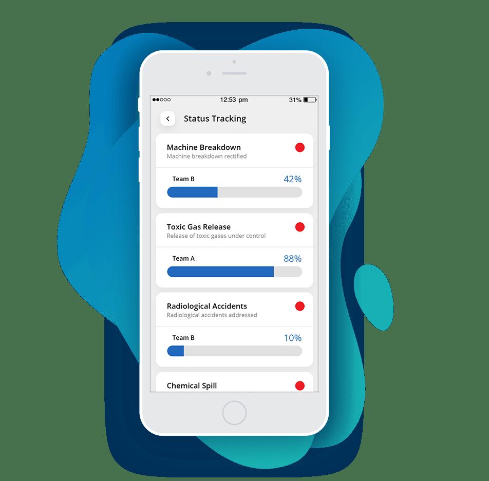 Status Tracking emergency Response