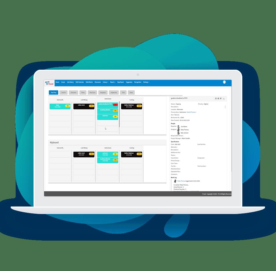 Production planning software Work order Management