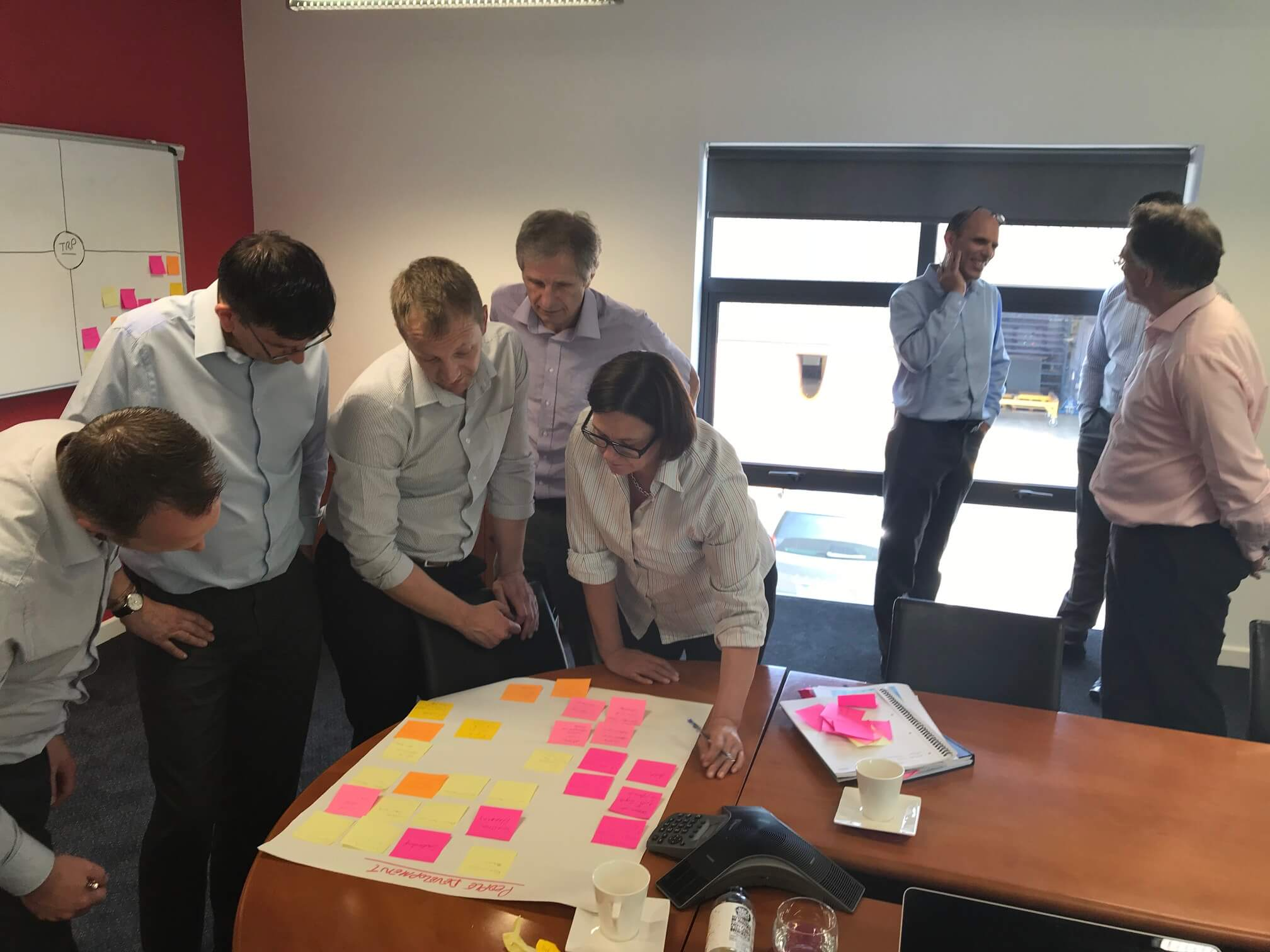 TRP one step ahead in lean strategic training